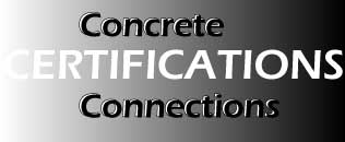 concrete connections certification image link