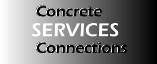 concrete connections services logo link